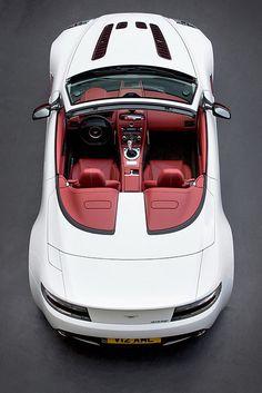 The new Aston Martin V12 Vantage Roadster.