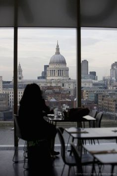 Cafe, Tate Modern, London.