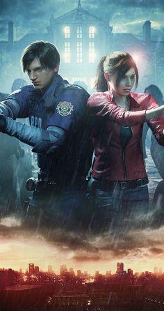 Resident Evil 2 video game on Xbox One #residentevil #biohazard #xbox #xboxone #gaming #videogames #horror Resident Evil 5, Resident Evil Video Game, Leon S Kennedy, Xbox One Games, Ps4 Games, Video Games Xbox, Evil Games, Horror Video Games, Video Game Art