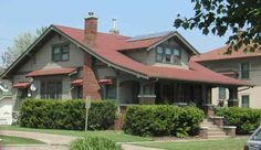 craftsman style homes pictures | Craftsman Style House :: Louden Machinery Company Tour, Fairfield, IA
