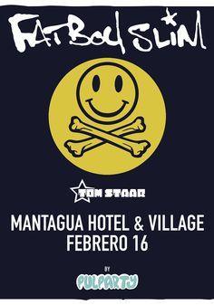 Fatboy Slim Pulparty - 16 de febrero - Mantagua Hotel & Village