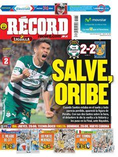 Portada RÉCORD 14-05-2012 | México y Guadalajara