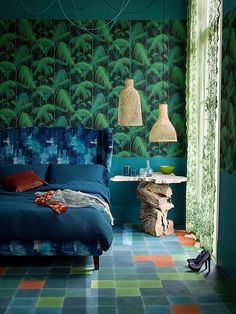 wallpaper Palm Jungle by Cole & Son