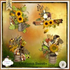Autumn Sweet de Tif Scrap - embellissements