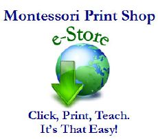 Printable Montessori materials for Montessori learning at home and at school.