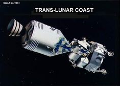 CSM-LM in coast mode after Translunar Injection. Apollo Program, Space And Astronomy, Nasa, Sci Fi, Science Fiction, Apollo
