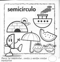 Fichas figuras geometricas – FICHAS PARA PINTAR | DIBUJOS PARA PINTAR