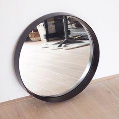 Vintage mirror black by LeFlair on Etsy