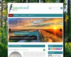 Nature Travell WordPress theme