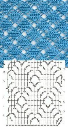 Watch This Video Beauteous Finished Make Crochet Look Like Knitting (the Waistcoat Stitch) Ideas. Amazing Make Crochet Look Like Knitting (the Waistcoat Stitch) Ideas. Crochet Stitches Chart, Crochet Motifs, Crochet Diagram, Filet Crochet, Knitting Stitches, Knitting Patterns, Knit Crochet, Crochet Patterns, Crochet Flower