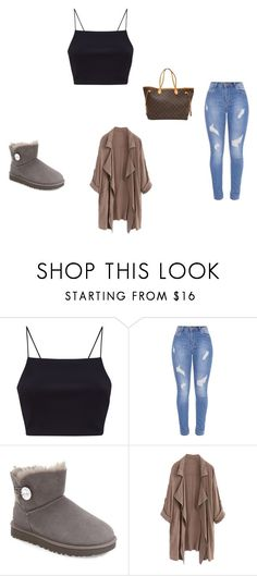 """hi"" by adrianagonzalez-t on Polyvore featuring UGG and Louis Vuitton"