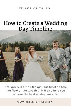 How to create a wedding day timeline. Wedding Day Timeline, Wedding Advice, Wedding Planning, Well Thought Out, Cool Photos, Wedding Photography, How To Plan, This Or That Questions, Create