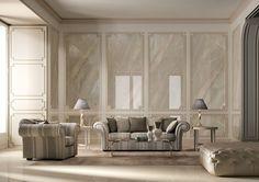 Porcelain Tile: Breccia beige: Precious stones