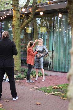 ©WikeZijlstra.nl - Backstage photshoot for Beau Monde InShape with Dutch singer/host Do #gorgeous #sparkle #sequins #photoshoot #magazine #dutch #singer #host #tv #glamour
