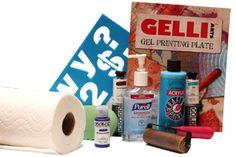splitcoaststampers Gel Printing Basics... Great tips and resource plus a video