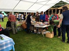 Jumble Sale. Aynho Fete. 12-June 2016. It was a 'Right Royal Do'!