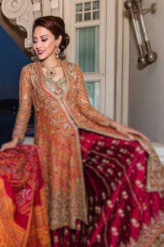 Farah Talib Aziz Bridal collection 2016 Pics