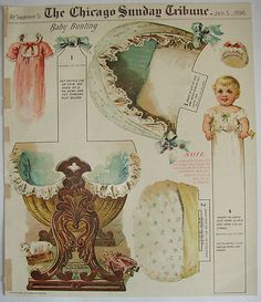 Chicago Sunday Tribune_ Paper Doll Baby Bunting,  Jan. 5, 1896