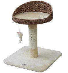 Go Pet Club 24 in. Rattan Wicker Cat Tree Bed Furniture Informations About Go Pet Club 24 in. Rattan Wicker Cat Tree Bed Furniture Pin You can Pet Furniture, Furniture Deals, Rattan, Wicker, Cat Wall Shelves, Tree Bed, Cat Perch, Cat Condo, Cat Supplies