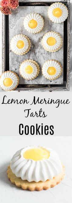 Lemon Meringue Cookie Tarts are the perfect combination of sweet and sour, soft and crunchy and is delicate but yet fierce.