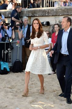 Kate Middleton Photos: Prince William and Kate Middleton at the Beach