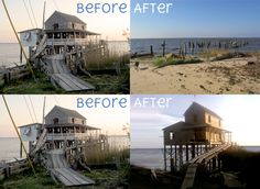 Before & After The Stinson Ranch (Nags Head)