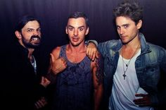 THIRTY SECONDS TO MARS  Tomo did it...