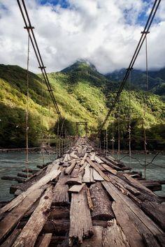 Hand made bridge