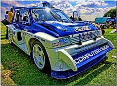 Austin Rover MG Metro 6R4 Group B Rally Car.Silverstone Classic 2008 by Antsphoto, via Flickr