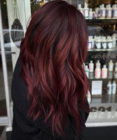 Burgundy Red Hair