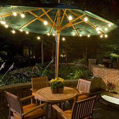 Outdoor lighting ideas for backyard, patios, garage. Diy outdoor lighting for front of house, backyard garden lighting for a party Backyard Lighting, Outdoor Lighting, Outdoor Decor, Lighting Ideas, Party Outdoor, Accent Lighting, Lighting Design, Outdoor Landscaping, Outdoor Gardens