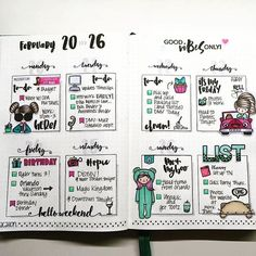 This weekly spread from @clmplans is simply amazing. Love the #stickers and #handlettering!! Be sure to check out her ig account @clmplans. She linked her first ever plan with me. ・・・  Happy Thursday! Be sure to head on over to the @mommylhey blog to check