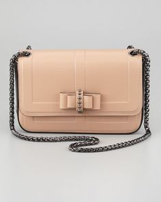 2013 Fall Preview Collection: Sotto Sweet Charity Shoulder Bag, Neutral by Christian Louboutin