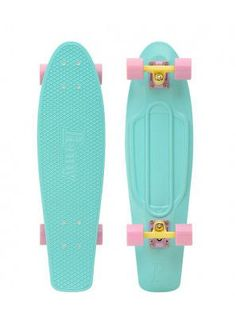 "Penny Skateboard - Pastel Mint 27"" Nickel - Complete - Explosive Powersports only $91!!! looovvee this board OMG so cute NEED IT"