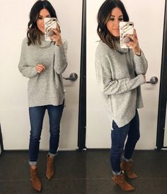 Old Navy Sweater…not the boots. Old Navy Sweater…not the boots. Look Fashion, Fashion Outfits, Womens Fashion, Fashion Basics, Fashion 2017, Fashion Clothes, Runway Fashion, Korean Fashion, Fashion Brands