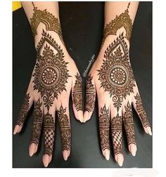 Henna by Jas. Simple bridal henna for a sweet bride Maryam . Offering FREE consultations for all brides getting married in Contact via e-mail text or phone for ALL 2018 Available Henna Dates! For all enquiries Call/Text Henna Hand Designs, Eid Mehndi Designs, New Bridal Mehndi Designs, Mehndi Designs Finger, Mehndi Design Photos, Mehndi Designs For Fingers, Mehndi Patterns, Latest Mehndi Designs, Simple Mehndi Designs