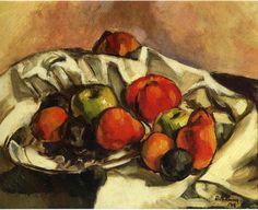 'bodegónl', oleo de Diego Rivera (1886-1957, Mexico)