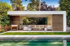 Bildergebnis für poolhaus modern