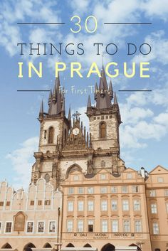 HAVE YOU COMPLETED THE LIST??? 30 Awesome Things to do in Prague!! Seriously great Prague bucket list I crafted myself after my many visits there. Read about the best things to do in Prague - summertime, museums in Prague, best restaurants in Prague, beer gardens, and more. Pin now and read later. | Prague Travel Tips | Prague Travel Guide