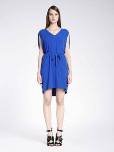 blue dress tara jarmon summer 2014 - Tara Jarmon Mariage