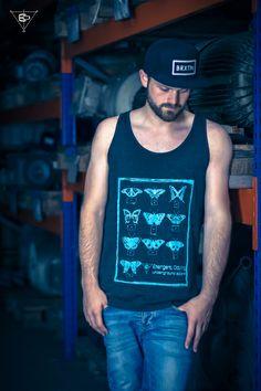 Butterflies - Tank - Men von Emergent Clothing auf DaWanda.com