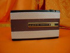 Vintage Sony TR 810 Transistor AM Radio Classy | eBay