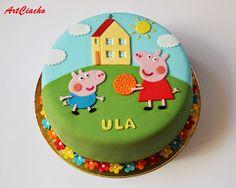 ArtCiacho: Tort ze Świnką Peppą i Georgem
