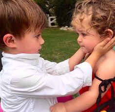 Alyssa Milano's beautiful kids, Milo & Elizabella❤️9/22/15.