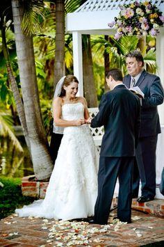 Kate and Evan's wedding at the Bahia Resort