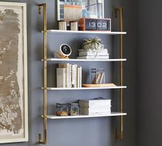 With just the right touch of shine, this large-scale storage piece is a polished base to show off your favorite books and decor pieces.