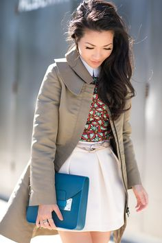 Winter Sun :: Flared trench