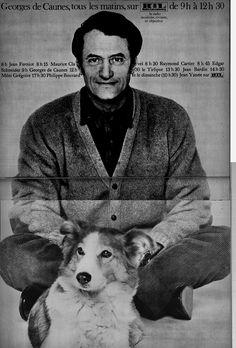 Georges de Caunes, tous les matins sur  RTL.  Paris Match, 11 mai 1968