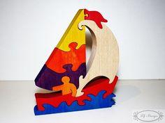 Ce puzzle en bois est un jouet qui aide à développer la créativité de l'enfant ainsi que ses capacités manuelles, mentales et esthétiques. Il enseigne la patience et la pré - 20445995