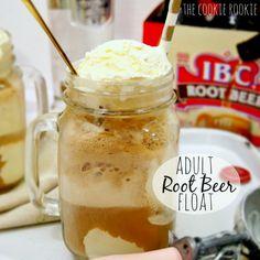 Adult Root Beer Float - The Cookie Rookie